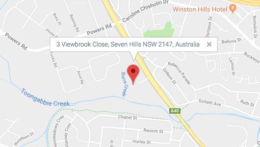 Crosbe location - 3 Viewbrook Close Seven Hills NSW 2147